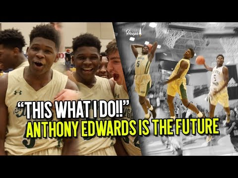 Most EXCITING SOPHOMORE IN THE COUNTRY??!! 5 Star Anthony Edwards Is THE FUTURE of HS Hoops