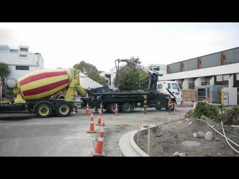 Commodore Hotel's New Christchurch Accommodation Wing Foundation Part 2 | Hotels Christchurch