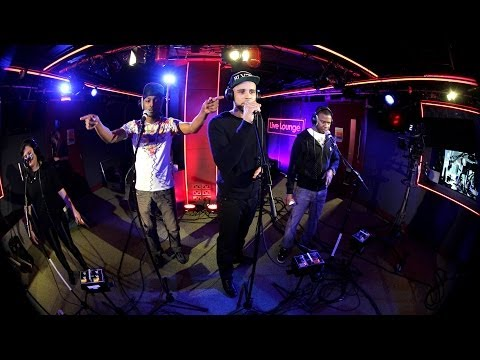 Meridian Dan - Blinded By The Lights in the 1Xtra Live Lounge