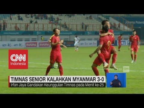 Timnas Senior Kalahkan Myanmar 3-0