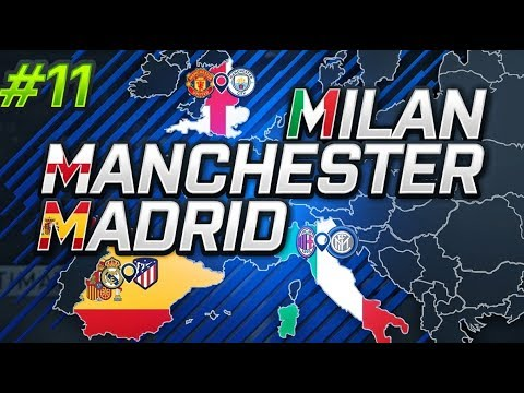 MILAN, MANCHESTER, MADRID EP11 | HUGE SIGNING ON THE FUT CHAMPIONS ROLLERCOASTER!