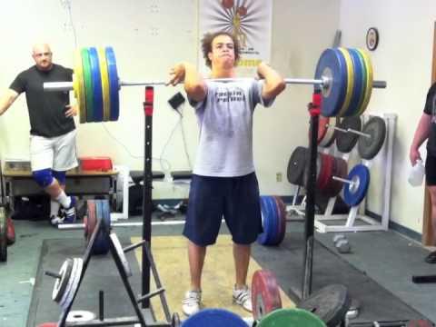 400 Pound 182 5kg Front Squat 80kg
