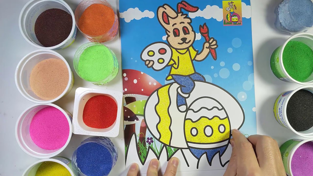 Tô màu tranh cát thỏ Hello Kitty - Раскраски картинки кота ...