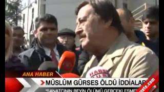 Müslüm Gürses öldü iddiaları