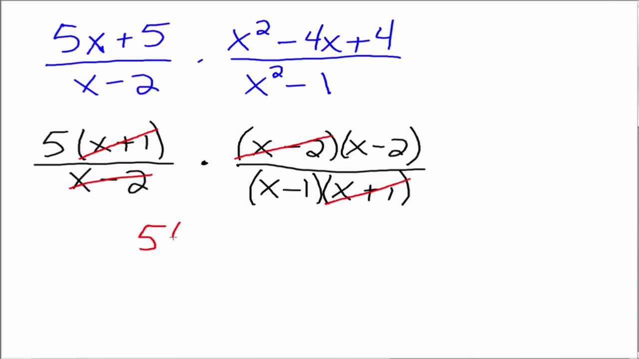 Multiplying rational expressions (article) | khan academy.