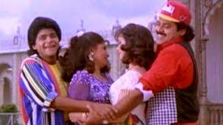 O Erra Tolu Pilla Full Video Song || Pokiri Raja Movie || Venkatesh, Pratibha Sinha, Roja