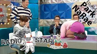 [RADIO STAR] 라디오스타 - Park Na-rae bowed to Kim Gu-ra for New Years 20160203