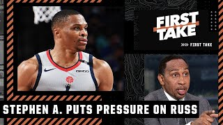 Stephen A. puts the pressure on Russell Westbrook to win with Lakers