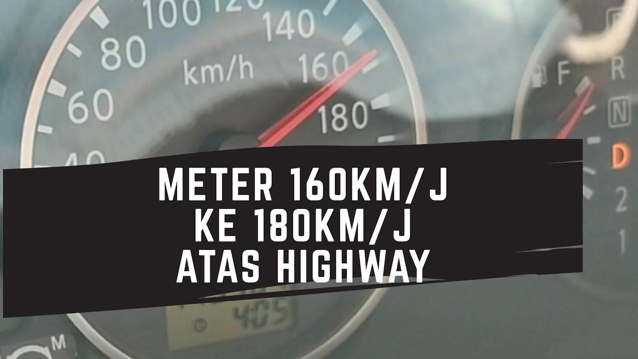 Kelajuan Kereta Dari 160 KM/J Ke 180KM/J