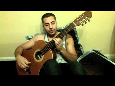 AFGHAN GUITAR TUTORIAL #2:  (Ay Negar Man)