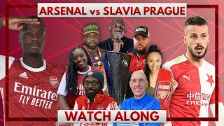 Arsenal vs Slavia Prague | Watch Along Live