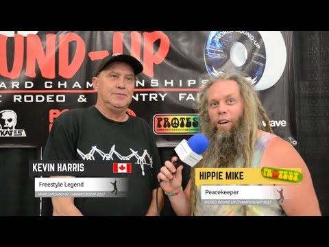 World Round Up 2017 - Interview with Freestyle Legend - Kevin Harris