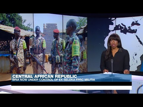 Militia groups take over Central African Republic town of Bria