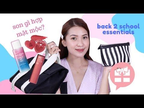 B2S Essentials 🎒MANG GÌ ĐI HỌC & [CLOSE] Giveaway Bạn Gái nào cũng mong 💝