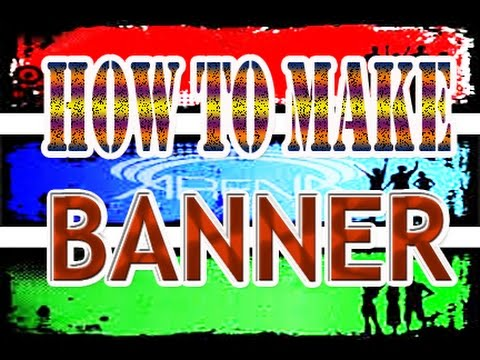 How to make banner using Microsoft Publisher