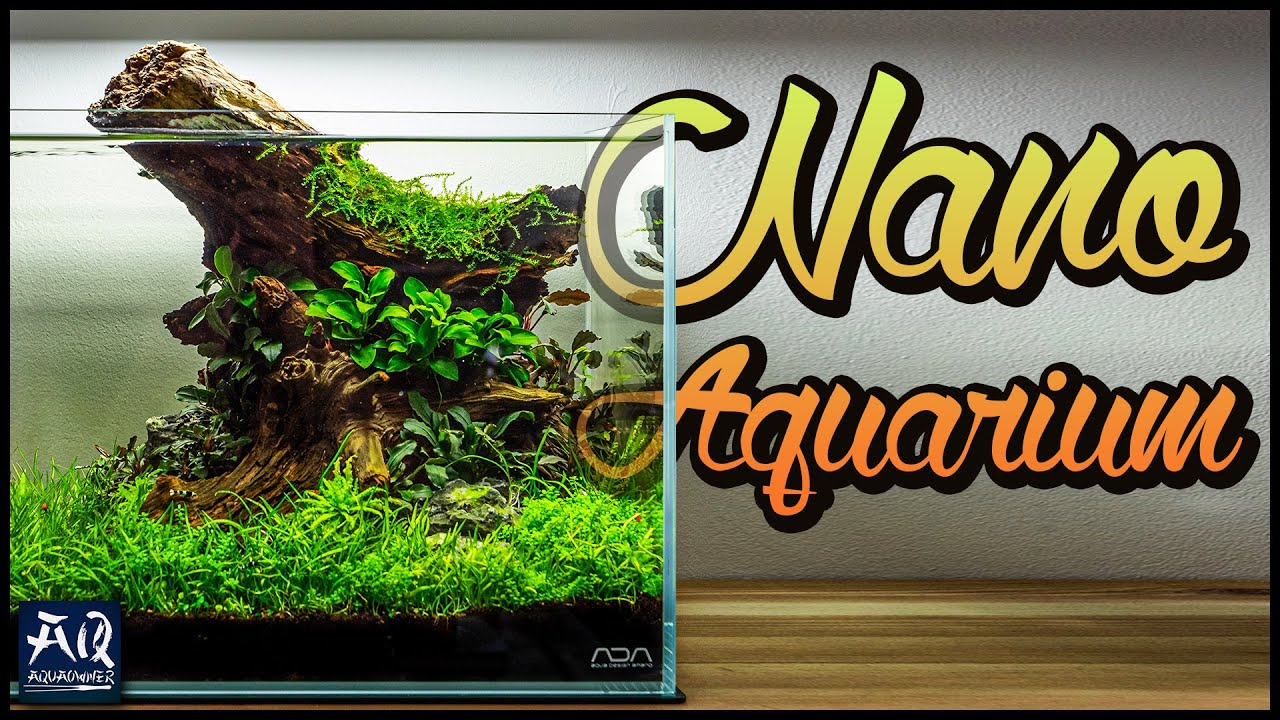 nano aquarium einrichten aquaowner youtube. Black Bedroom Furniture Sets. Home Design Ideas