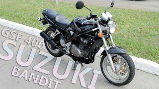 Осмотр Suzuki GSF 400 Bandit 1993r.