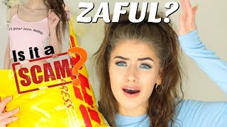 HUGE ZAFUL FIRST IMPRESSIONS TRY ON HAUL 2018! | Jessie B