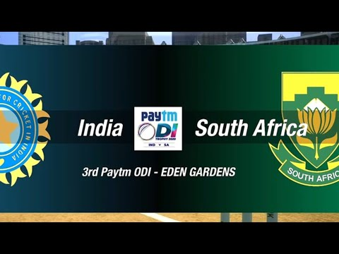 India Vs South Africa 3rd ODI - Paytm Series (Cricket 19 Gameplay)
