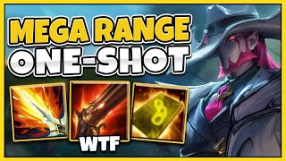Beyond MAX RANGE Stuns AND One-Shots! *NEW* Crime City Twisted Fate Gameplay - League of Legends