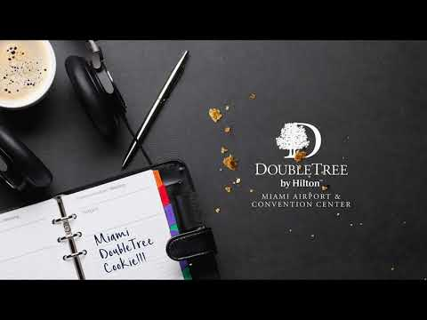 Doubletree By Hilton Hotel Miami Cookie Planner