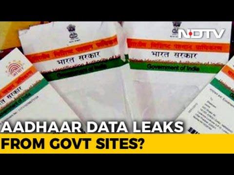 13 Crore Aadhaar Leaked Due To Poor Security In 4 Government Websites