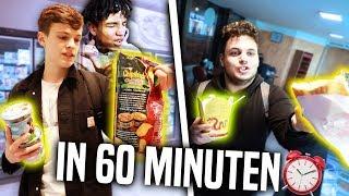 10.000 KALORIEN Challenge in 60 MINUTEN! 😋🤮 (übergeben)