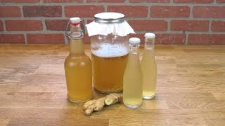 Water Kefir Ginger Tonic