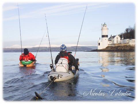 Kayak Fishing The Clyde Estuary .