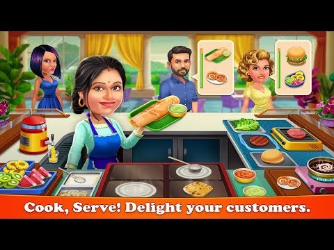 Patiala Babes : Cooking Cafe - Restaurant Game Android Gameplay
