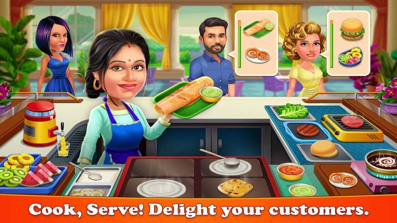 Patiala Babes : Cooking Cafe – Restaurant Game Android Gameplay
