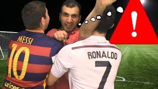 Cristiano Ronaldo vs. Messi -  Meeting a Fan | In Real Life!