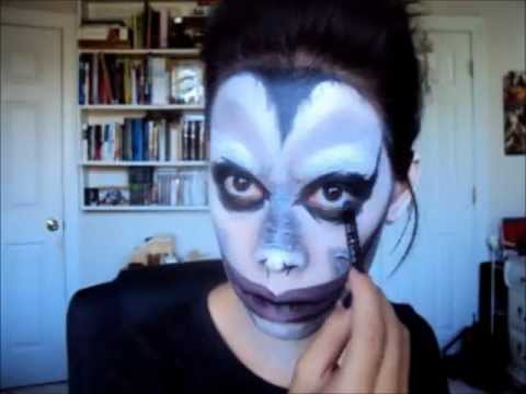 Halloween: Ryuk Cosplay Makeup (Death Note)