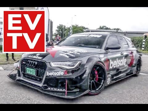 BEST Audi RS6 moments!
