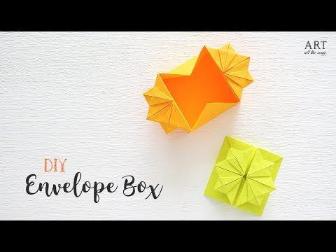 Origami Box Envelope Tutorial | DIY | Craft Ideas