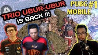 TRIO UBUR-UBUR IN ACTION - PUBG MOBILE INDONESIA