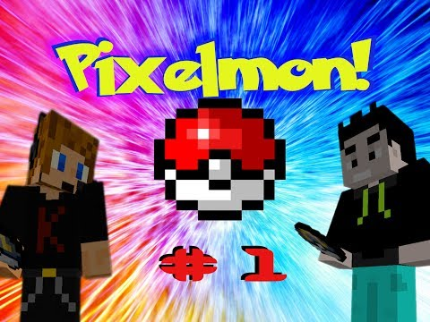 PIXELMON! Episode 1: Poking Balls and Stuff