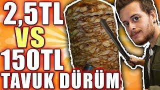 İstanbul'un En İyi Tavuk Dönerleri vs Bim Döneri! #AlperinEnleri