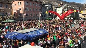Carnaval en suisse en Valais ville de Monthey 2020