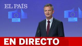 DIRECTO #CORONAVIRUS | Briefing diario de la Comisión Europea