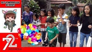 Lomba Balap Telur Puyuh Anak Di Hut Kemerdekaan Ri 72