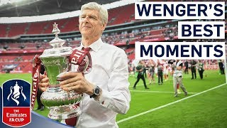 Arsène Wenger's Greatest FA Cup Moments | Merci Arsène | Emirates FA Cup