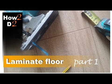 How To Install Laminate Floor Part How To Fit Laminate Floor Underlay