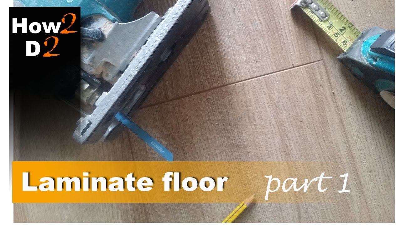 How To Install Laminate Floor Part 1 Fit Underlay