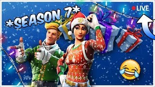 *NEW* MAX SEASON 7 BATTLE PASS UNLOCKED I Fortnite Season 7 Gameplay I *NEW* CREATIVE MODE GAMEPLAY*