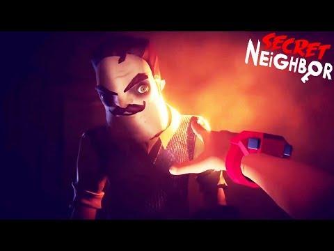 ПРИВЕТ СОСЕД по Сети ОБНОВЛЕНИЕ Новые Эмоции! - Hello Neighbor Secret прятки