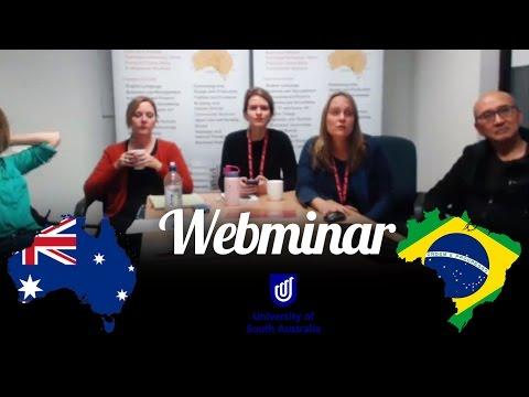 Webminar UNISA Tafe Adelaide