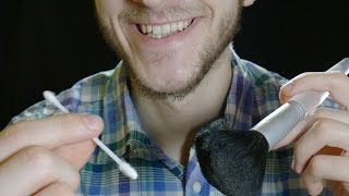 Ear Cleaning with Slovak / English whispering ASMR