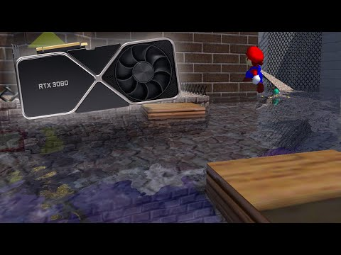 I bought a $1500 GPU to play Super Mario 64 with RTX