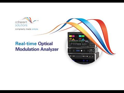 Real-time Optical Modulation Analyzer